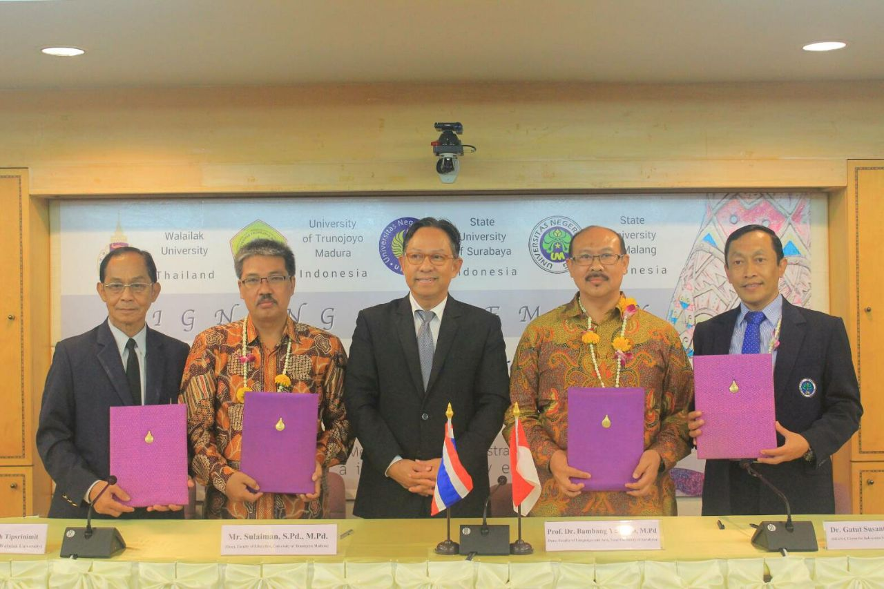 Memorandum Of Agreement FIP UTM dan Faculty Liberal Arts Walalilak University Thailand